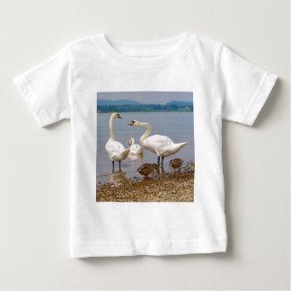 Mute swans and ducks baby T-Shirt