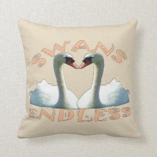 Mute Swans Endless Cushion