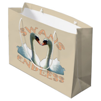 Mute Swans Endless Large Gift Bag