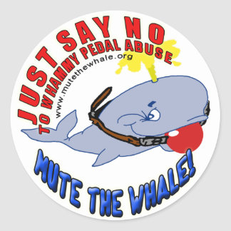 Mute The Whale Stickers