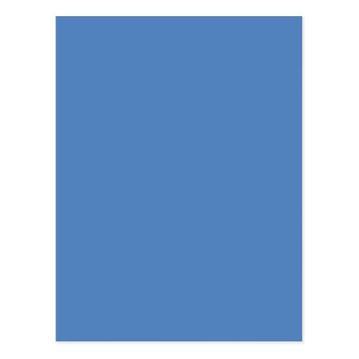 Muted Blue Medium Hanukkah Chanukah Hanukah Post Cards