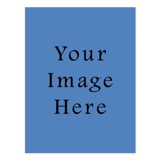 Muted Blue Medium Hanukkah Chanukah Hanukah Postcards