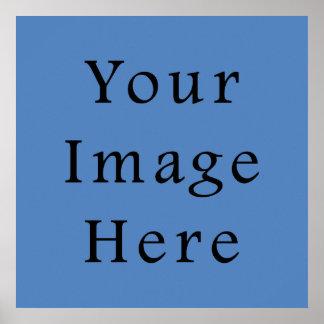 Muted Blue Medium Hanukkah Chanukah Hanukah Poster