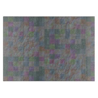 Muted Italian mosaic tiles in jade Cutting Board