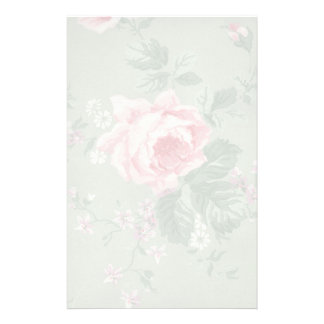 Muted Pink Rose Stationery