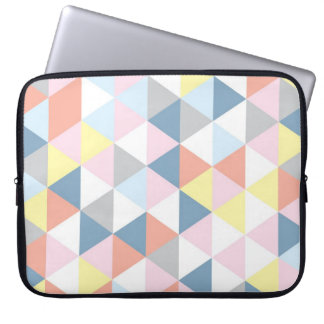 Muted Triangle Laptop Sleeve