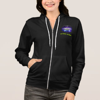Muteki MMA Metal Octagon - Women's Zip Up Hoodie