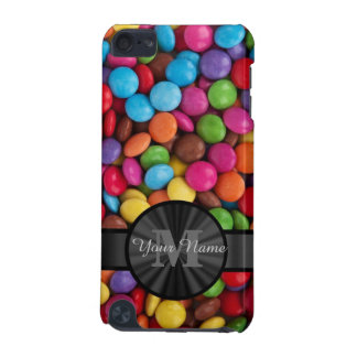 Muticolored colourful candy personalised iPod touch 5G covers
