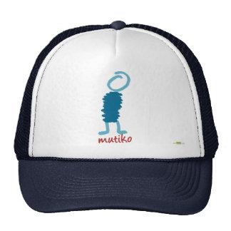 Mutiko alone. Hat