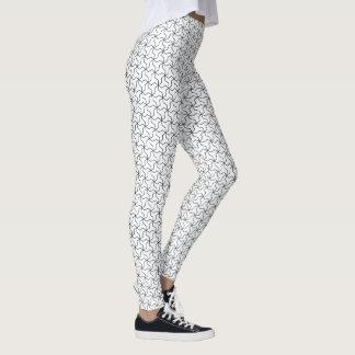 Mutsudemanji Japanese Pattern Leggings