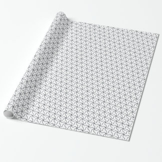 Mutsudemanji Japanese Pattern Wrapping Paper