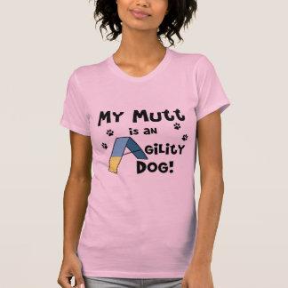 Mutt Agility Dog Ladies T-Shirt