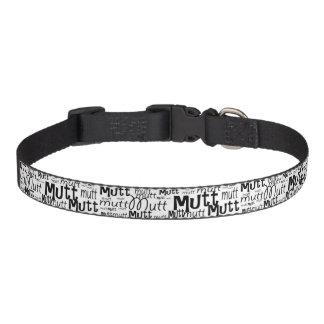 """""""Mutt"""" Dog Collar"""