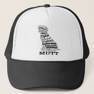 Mutt Dog Lover's Casual Apparel Trucker Hat