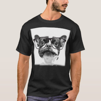 Mutt Dog with Red Collar T-Shirt