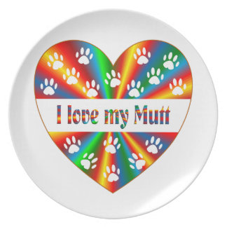Mutt Love Plate