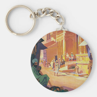 Muttra ~ Krishna Temple Keychains