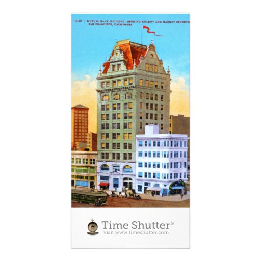 Mutual Bank Building Picture Card