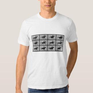Muybridge's Running Horse Tshirts