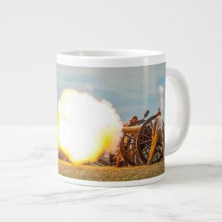 Muzzle Blast! Large Coffee Mug