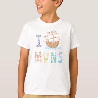 MVNS 2015/2016 pirate ship tees