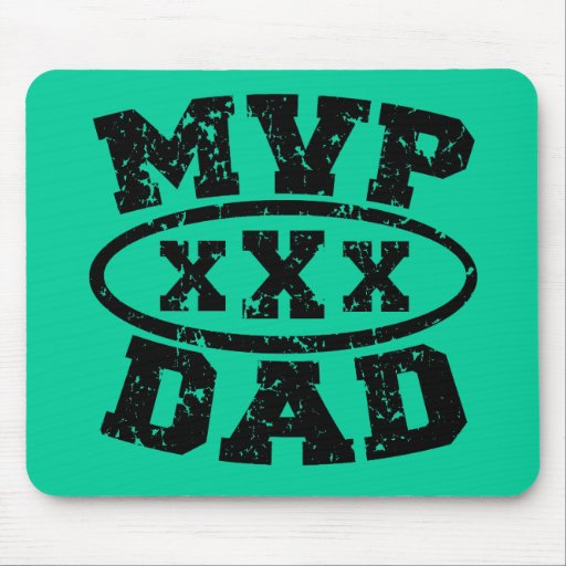 MVP Dad Father's Day Products Mouse Pads