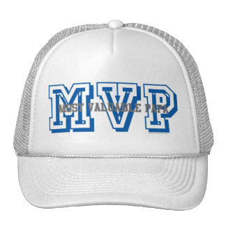 MVP-MOST VALUABLE PAPA TRUCKER HAT