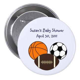 MVP/Sports Button/Pins 7.5 Cm Round Badge