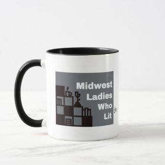 MWLWL Black 11 oz Combo Mug