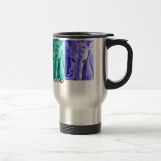 Mx4 design  ADOPT A GREYHOUND travel mug
