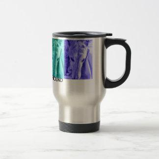 Mx4 design  ADOPT A GREYHOUND travel mug