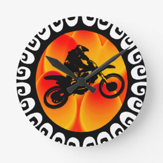 MX THE DUNES ROUND CLOCK