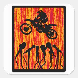 MX THE STAtEMENT Sticker
