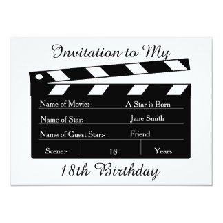 My 18th BIRTHDAY PARTY INVITATION CARD