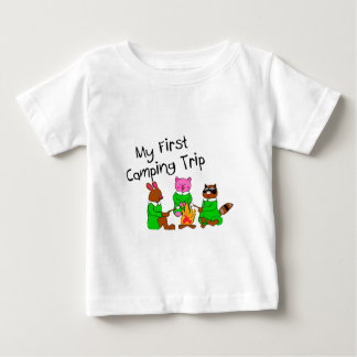 My 1st Camping Trip Baby T-Shirt