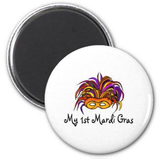 My 1st Mardi Gras Magnet