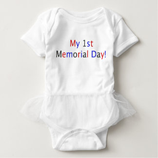 My 1st Memorial Day! Baby Bodysuit
