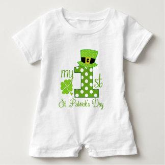 My 1st St. Patrick's Day Baby Bodysuit