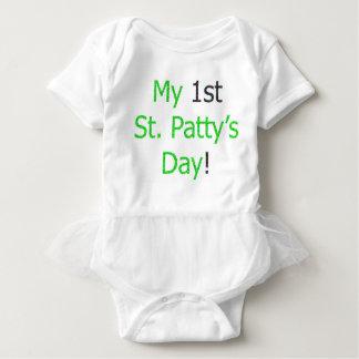 My 1st St. Patty's Day! Baby Bodysuit