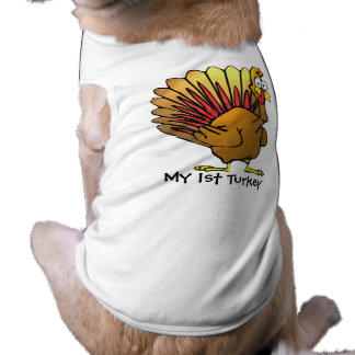 My 1st TURKEY Dog T-shirt