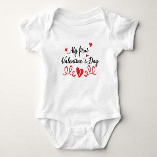 My 1st Valentines Day Baby Bodysuit