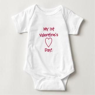 My 1st Valentine's Day!-Baby Shirt