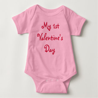 My 1st Valentine's Day-Infant Tees