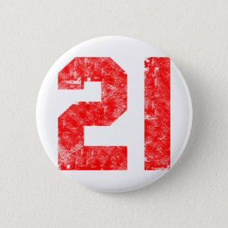 My 21st Birthday Gifts 6 Cm Round Badge