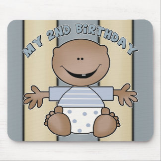 My 2nd Birthday Gifts Mouse Pad