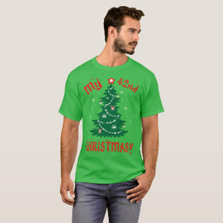 My 42nd Christmas Ugly Sweater Gift Tshirt