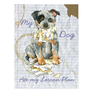 My ACD Ate My Lesson Plan Postcard