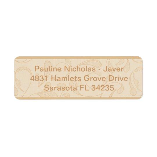 My Address Label