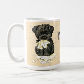 My Affenpinscher Ate My Homework Coffee Mug