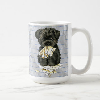 My Affenpinscher Ate my Lesson Plan Coffee Mug